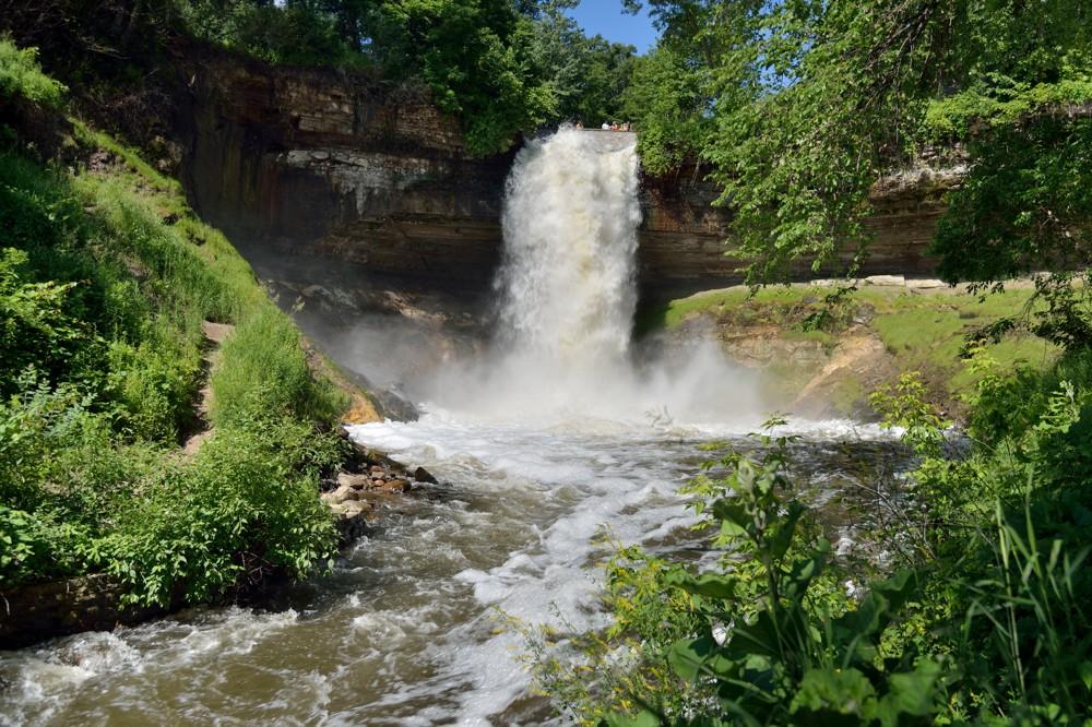 20140624-DSC_8985 Minnehaha Falls Minneapolis Minnesota 1-80th