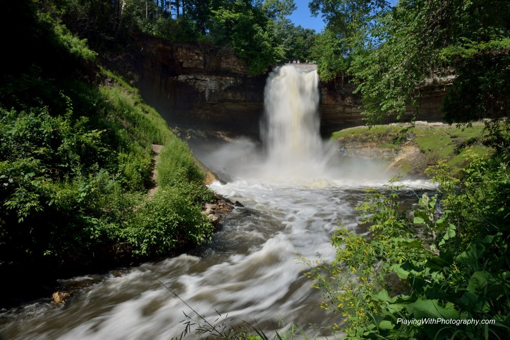 20140624-DSC_8996 Minnehaha Falls Minneapolis Minnesota 1-8th