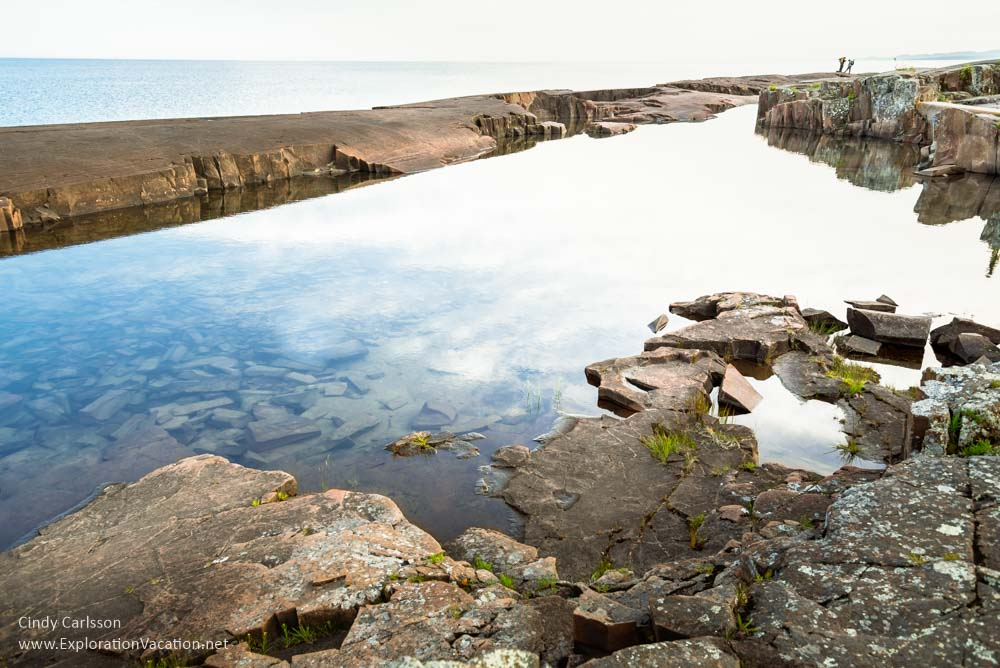 Sunset Artists Point Grand Marais