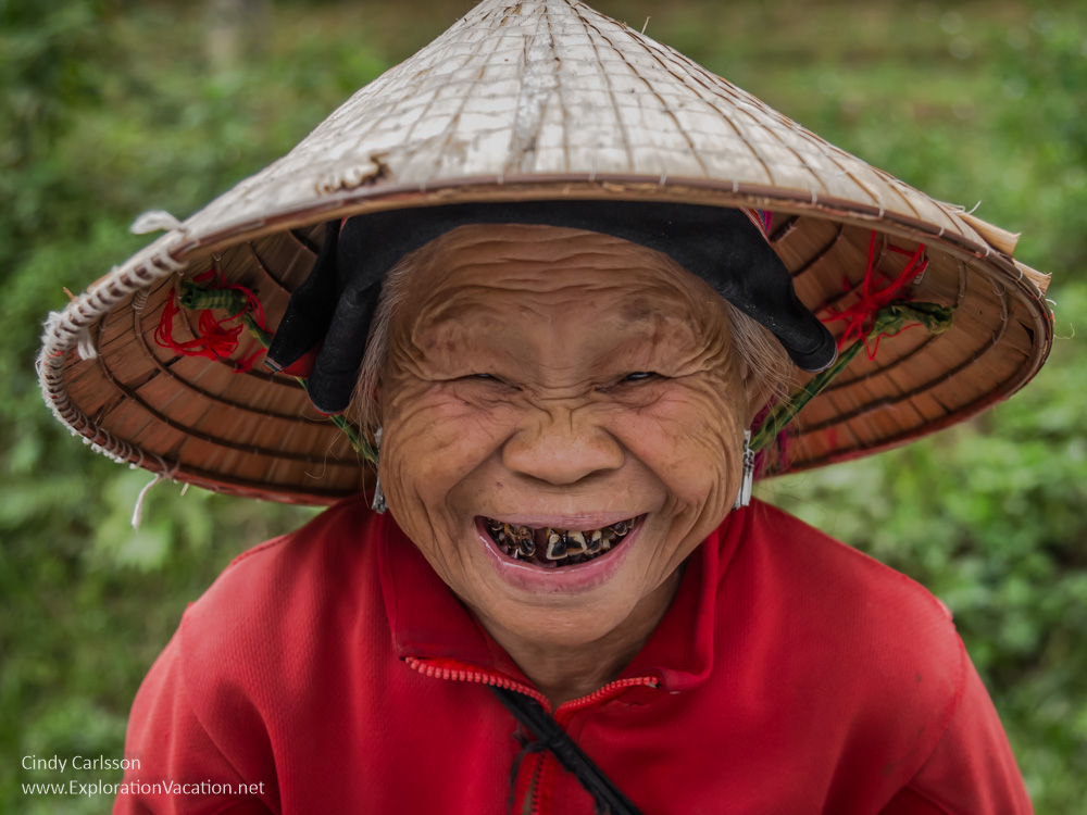 Aging beauty in Vietnam - Playing with Photography