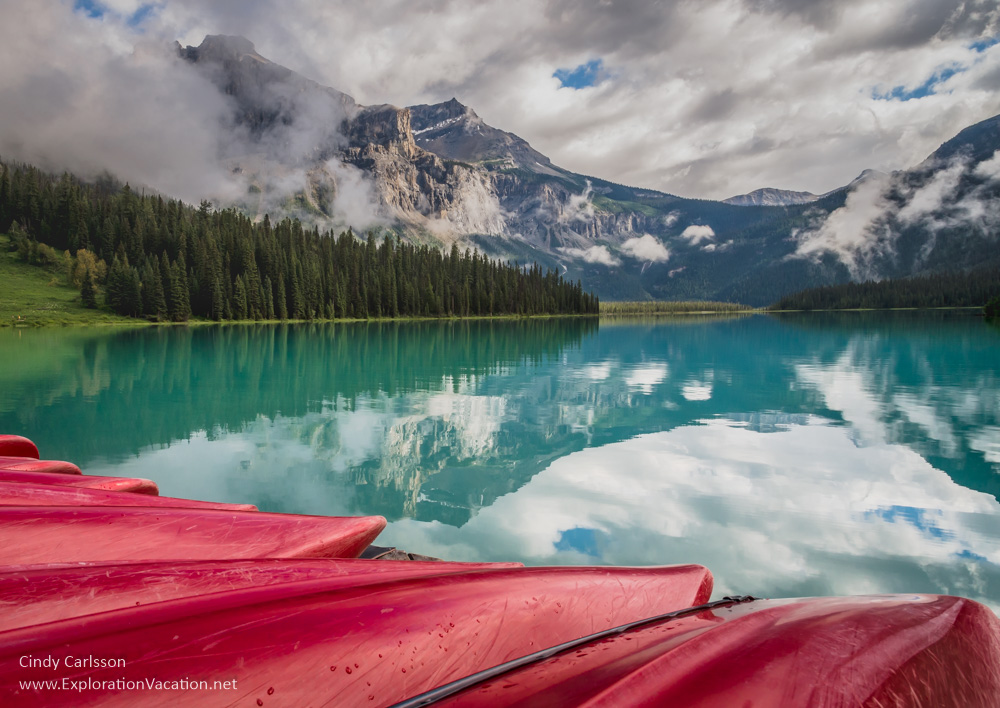 Emerald Lake - Dreaming of Moutains - Cindy Carlsson