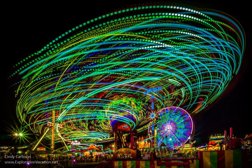 Night at the fair - cindy carlsson
