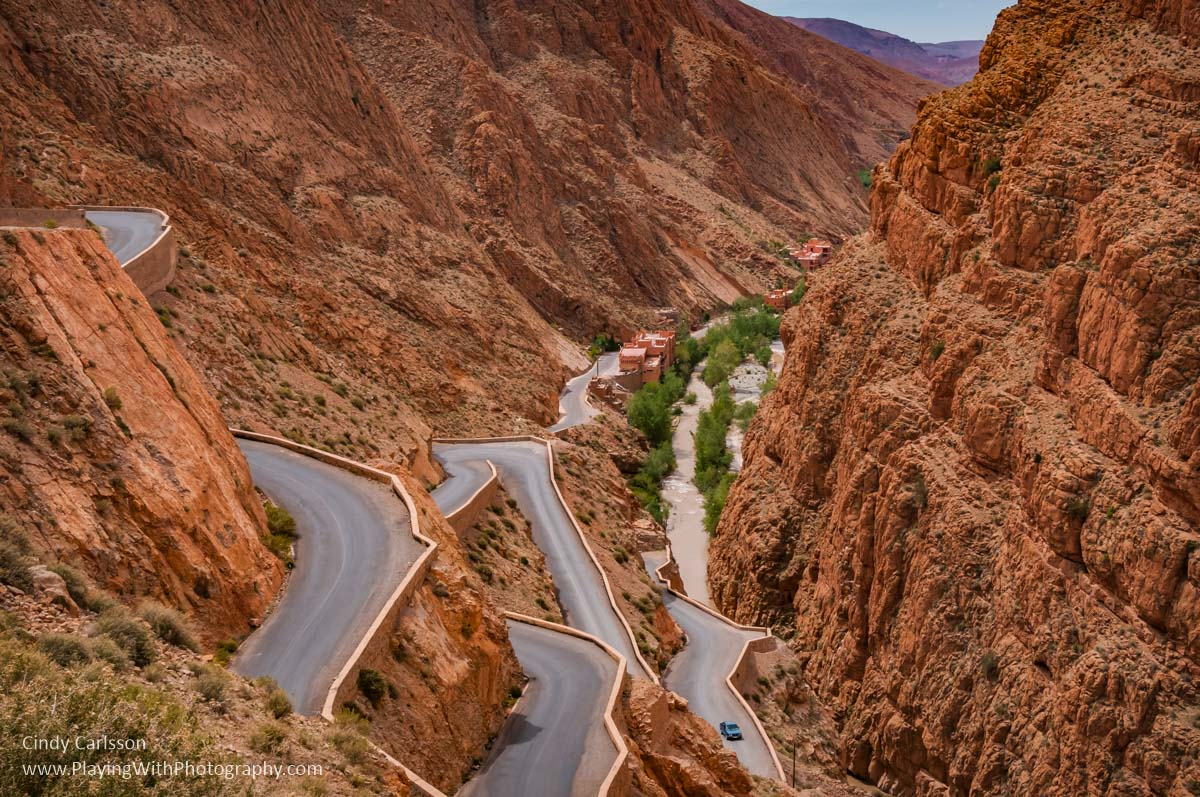 Dades Gorge Morocco - Playijng with Photograhy