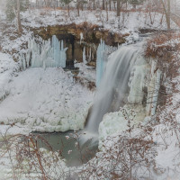 Minnehaha Falls Trey's HDR Flatten then Jack it - PlayingWithPhotography