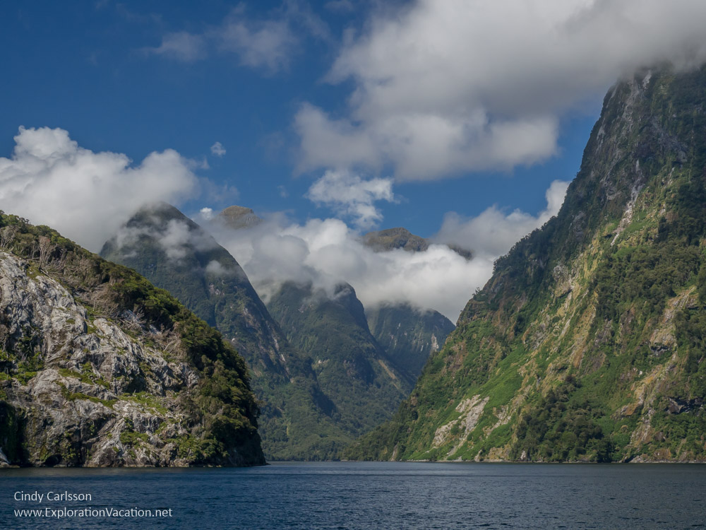 Doubtful Sound New Zealand - Cindy Carlsson