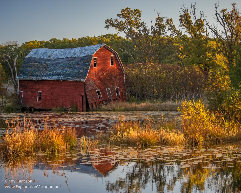 Falling in the water barn October St Paul Camera Club - Cindy Carlsson