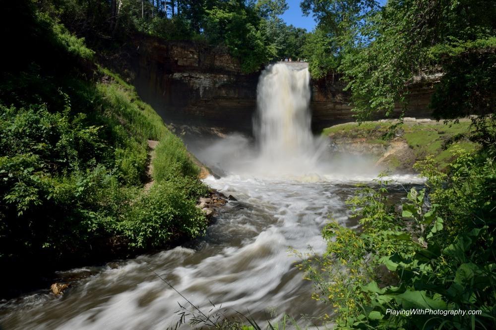 20140624-DSC_8996 Minnehaha Falls Minneapolis Minnesota 1-8th