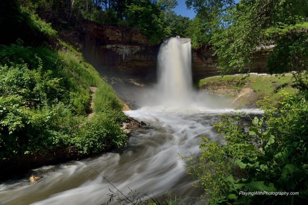 20140624-DSC_8999 Minnehaha Falls Minneapolis Minnesota 1 half s