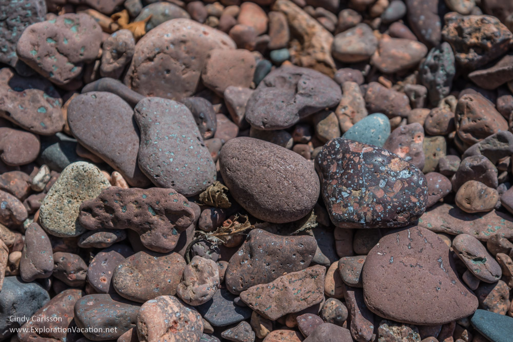 Lake Superior rocks