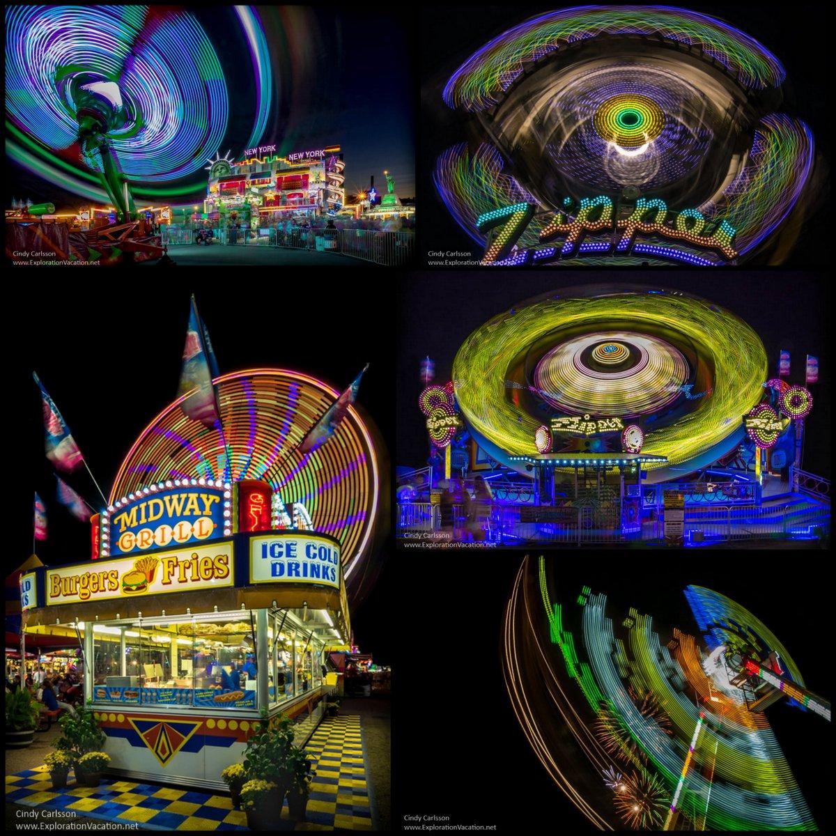 Night at the fair - cindy carlsson