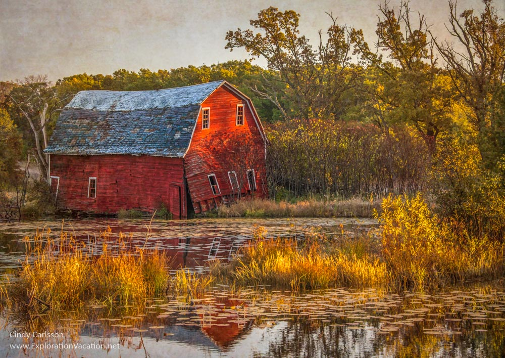 Falling in Water Barn - ExplorationVacation.net