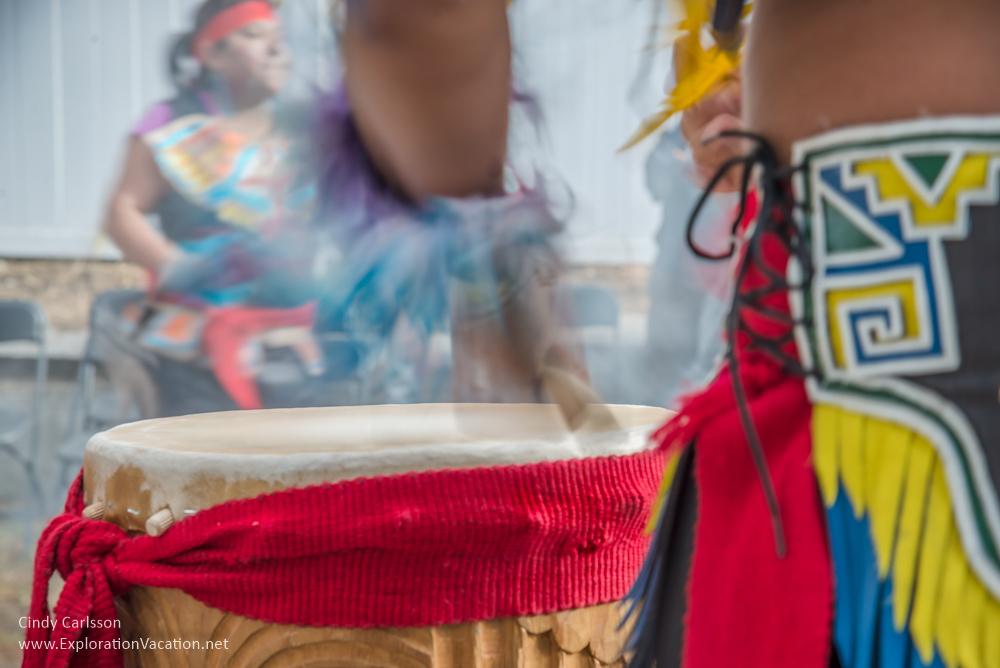 Aztec drumming - Cindy Carlsson