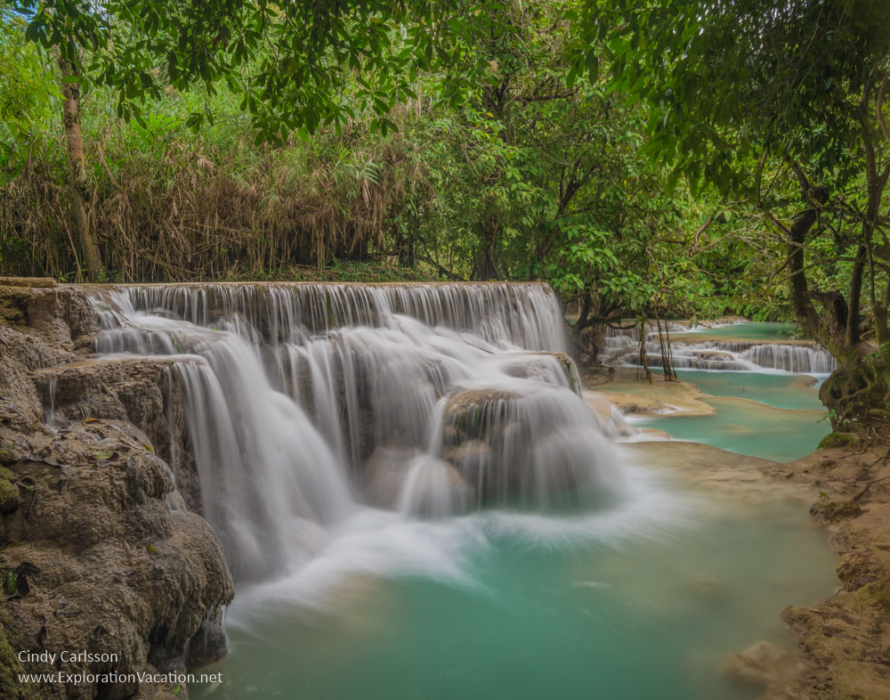 Kuang Si waterfall Laos St Paul Camera Club - Cindy Carlsson