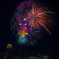 I dream of fireworks - Cindy Carlsson